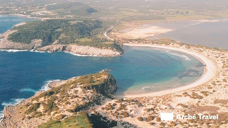 Voidokilia Peloponneso