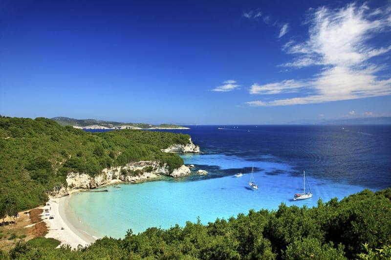 Voutoumi Antipaxos spiagge più belle Grecia