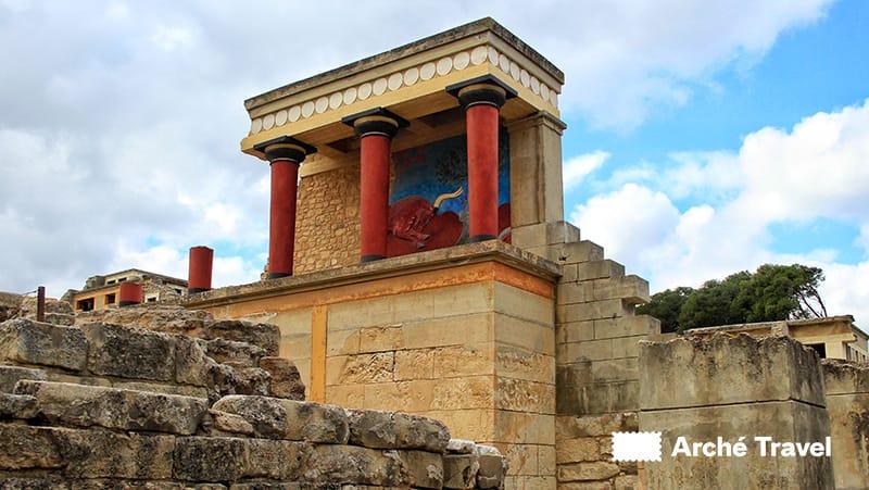 palazzo cnosso creta storia dell'antica grecia