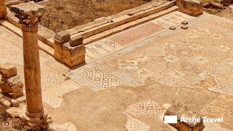 pavimento mosaico cattedrale bizantina