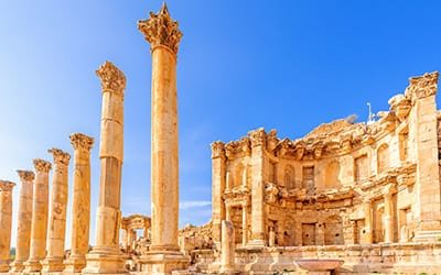 blog giordania guida jerash sito archoelogico