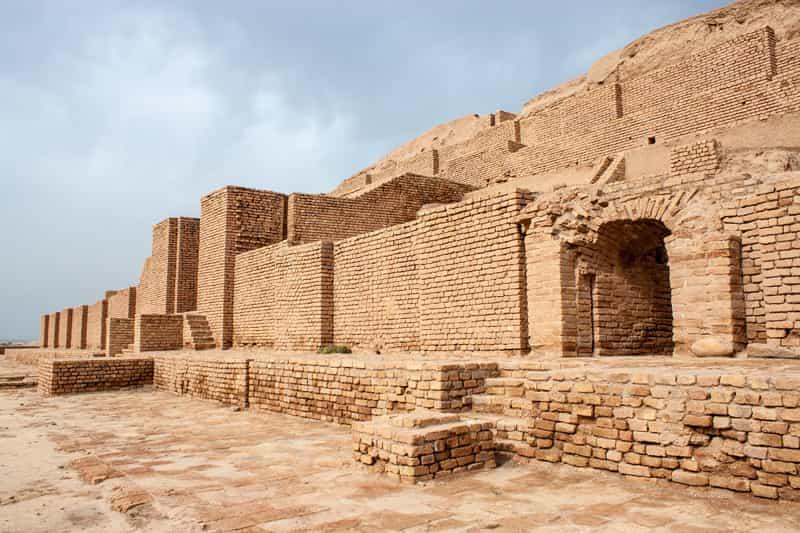storia dell'iran Zikkurat Choqa Zanbil