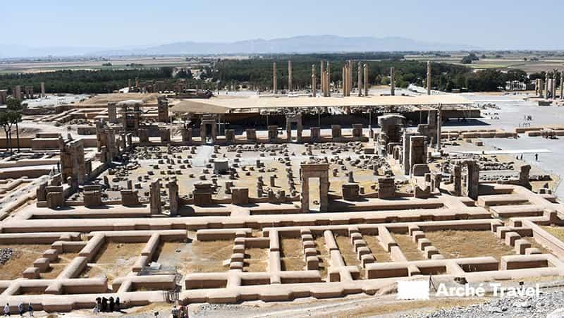 storia dell'iran rovine Persepoli