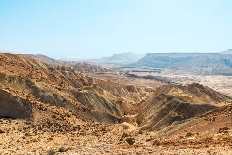 Deserto del Negev - Quando andare in Israele