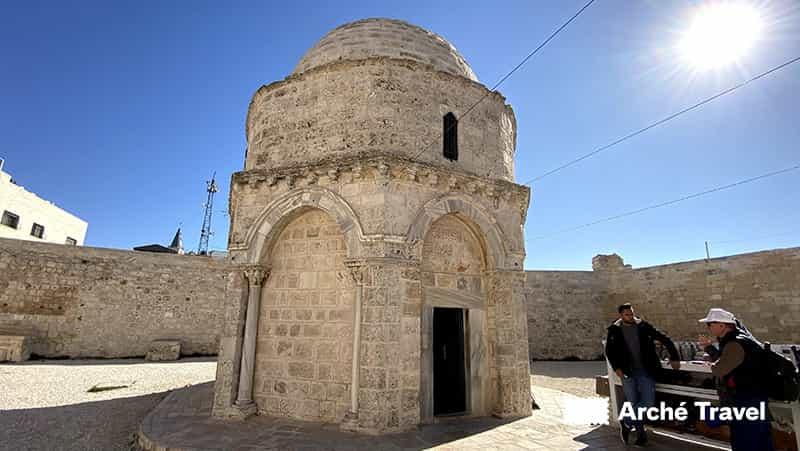 Santuario dell'Ascensione - Storia di Israele
