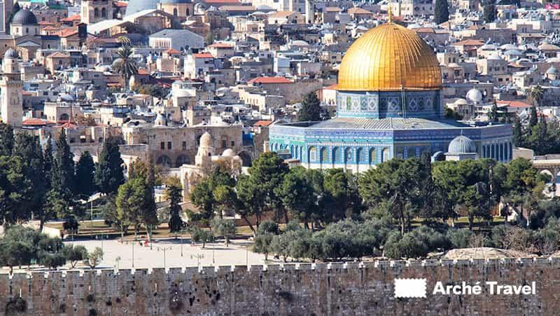 Cupola della Roccia - Storia di Israele