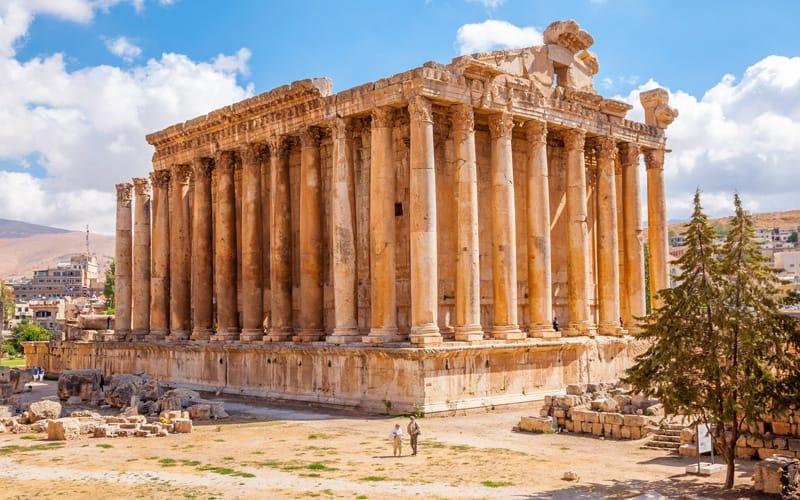 Heliopolis Baalbek - Storia del Libano