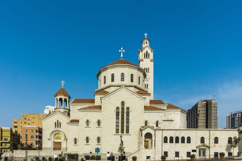 San Gregorio Illuminatore chiesa armena Beirut - Storia del Libano