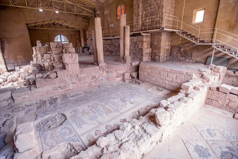 chiesa della vergine parco archeologico