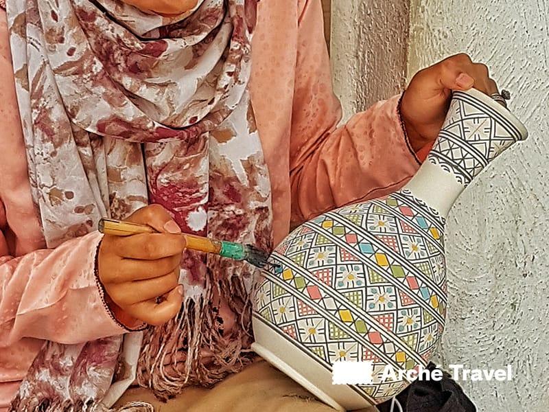 Eleganti ceramiche artigianali del Marocco - souvenir marocco