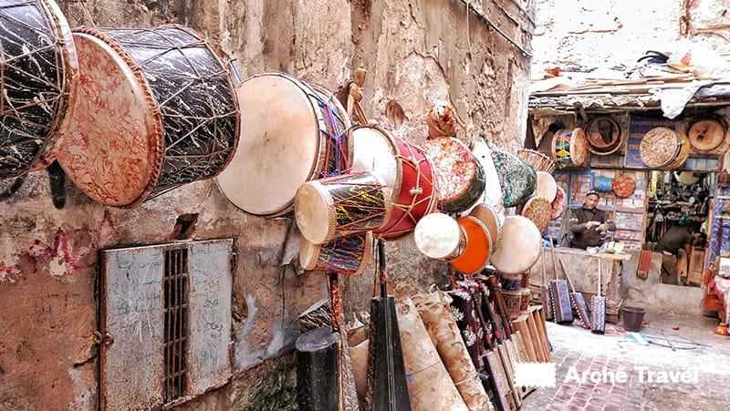 Strumenti musicali della tradizione marocchina