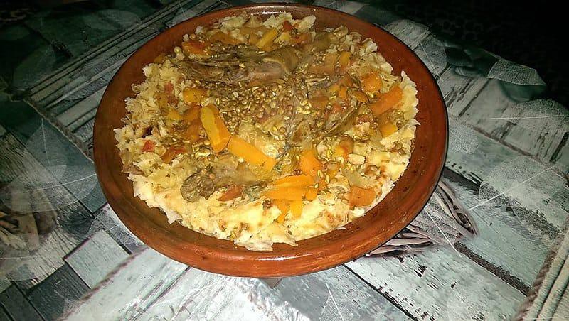 rfissa piatto tipico marocchino
