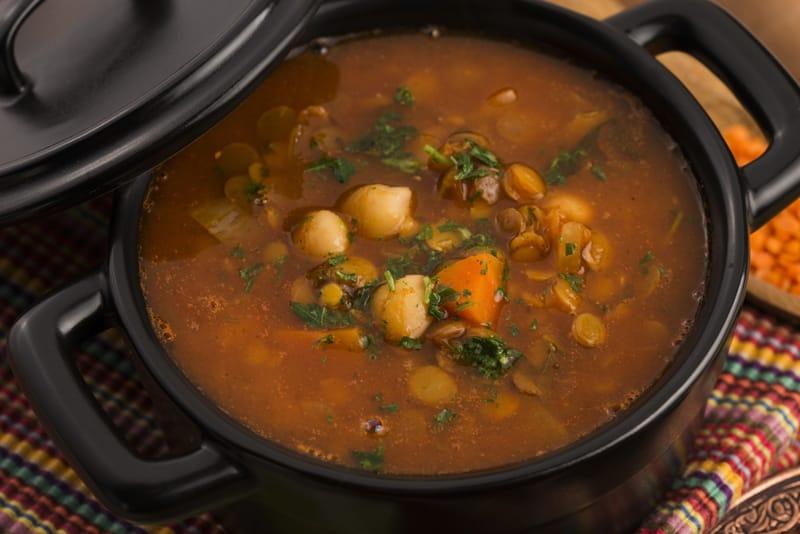 cosa mangiare in Marocco, harira