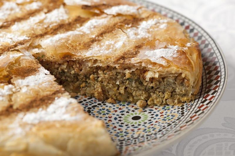 Cosa si mangia in Marocco, Pastilla