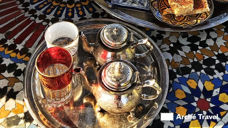 Cosa si mangia in Marocco, Tè alla menta