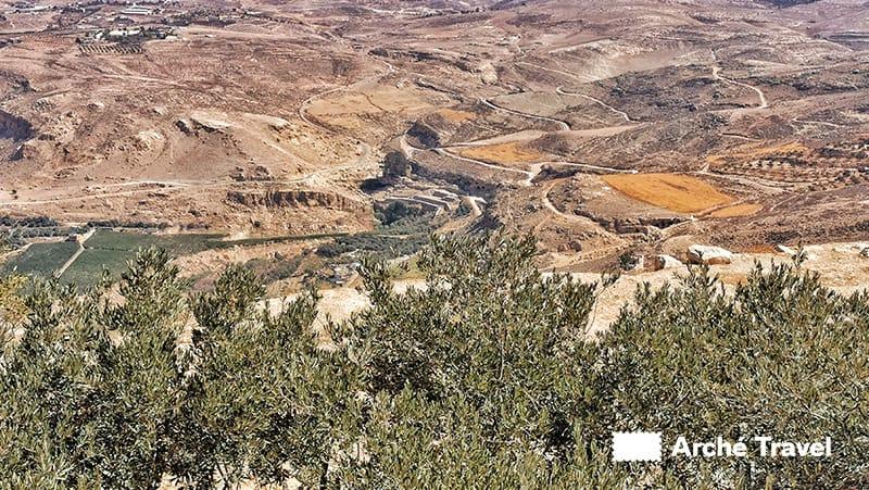 panborami monte nebo giordania