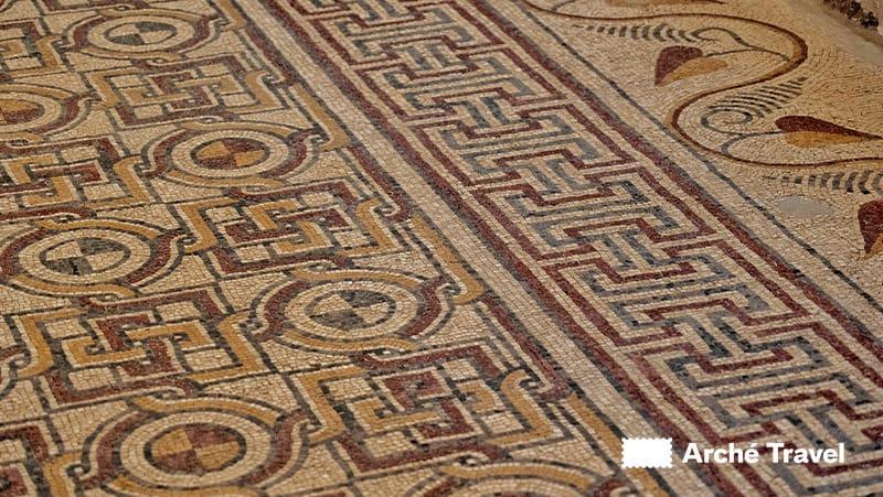 mosaici chiesa bizantina