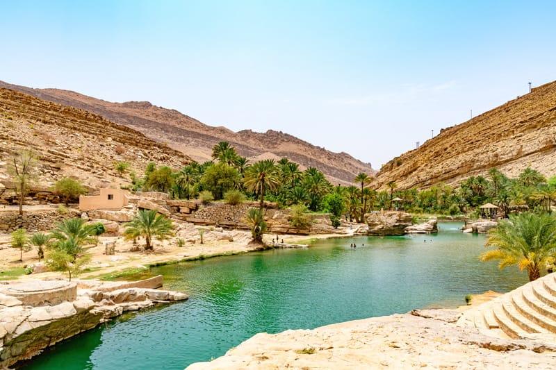 Wadi Bani Khalid - Quando andare in Oman