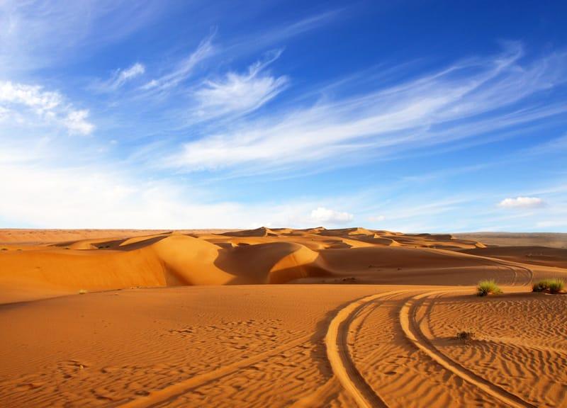 Wahiba Sands - Quando andare in Oman