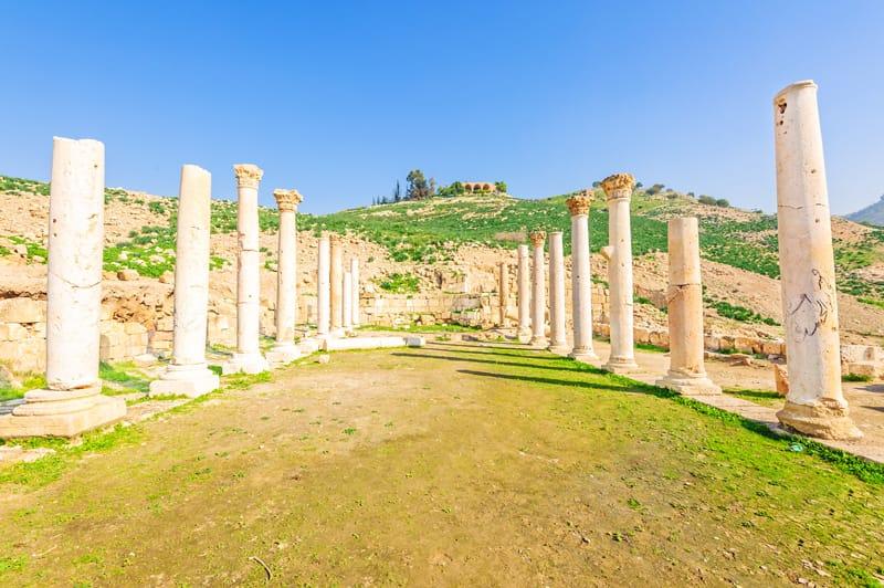 tempio sud pella giordania
