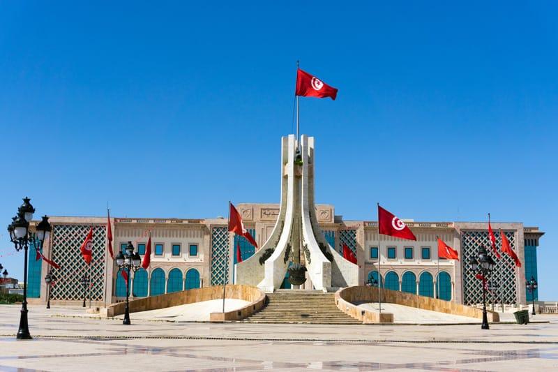 Piazza della Kasba Tunisi - Storia della Tunisia