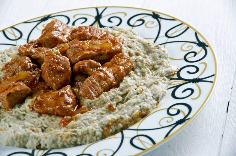 cosa mangiare in Turchia, Hunkar begendi - cucina turca