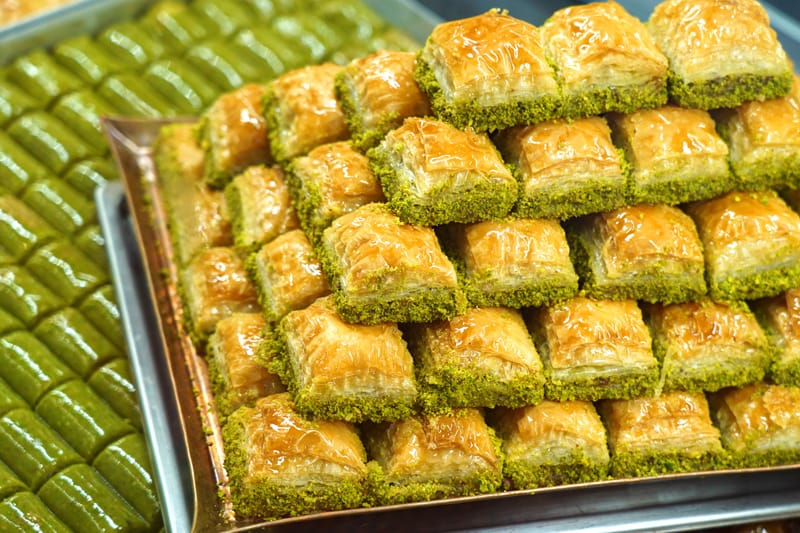 Cosa mangiare in Turchia Baklava - cucina turca