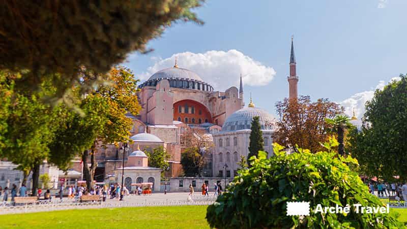 Agia Sofia - Storia della Turchia