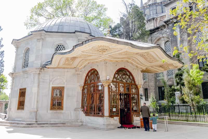 Mausoleo Mehmet II - Turchia