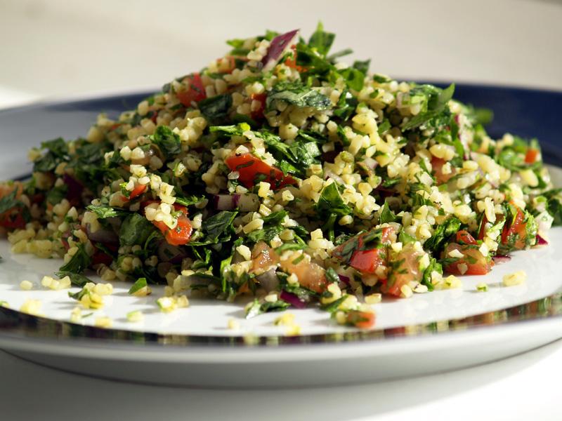 Tabbouleh cucina giordana - piatti tipici giordania