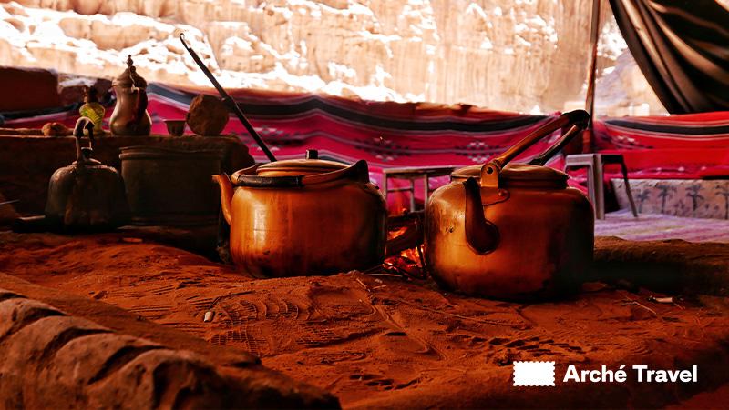 cosa mangiare in Giordania - Tè - piatti tipici giordania