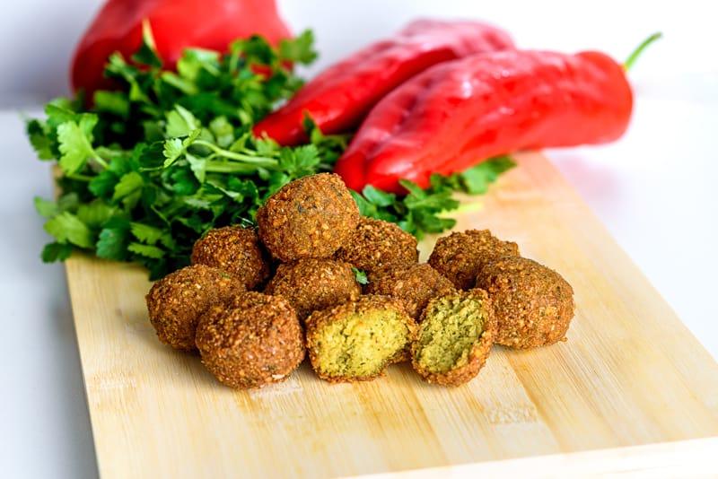 Israele Piatti tipici, cibo israeliano, falafel