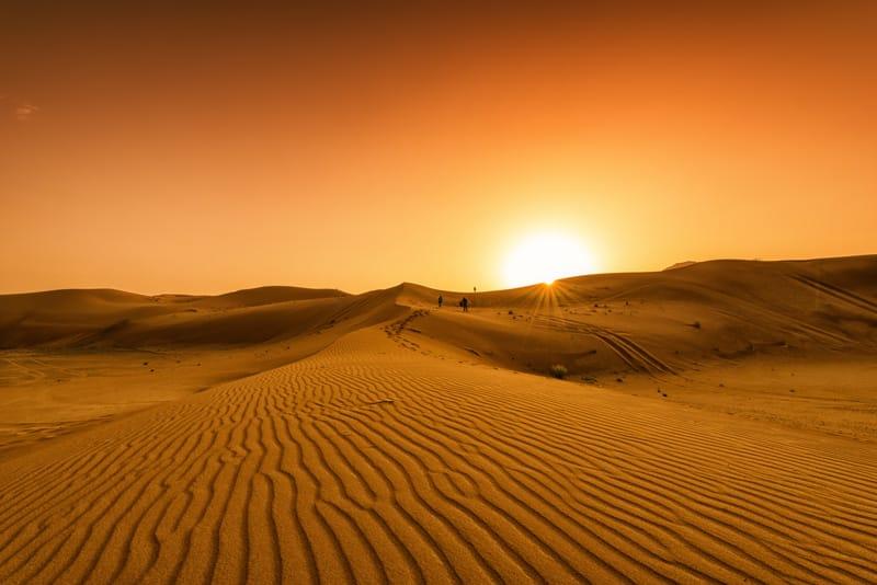Deserto Emirati Arabi - Quando andare a Dubai