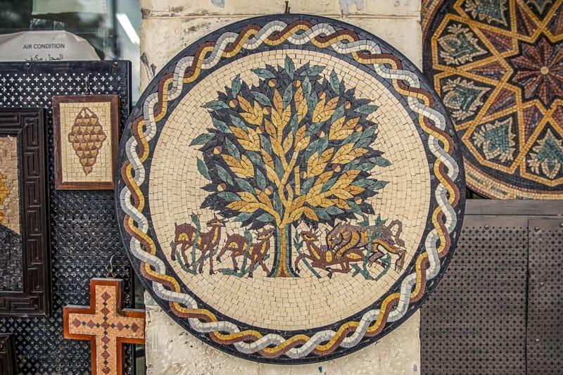 Souvenir dalla Giordania, cosa comprare in Giordania, ceramiche e mosaici