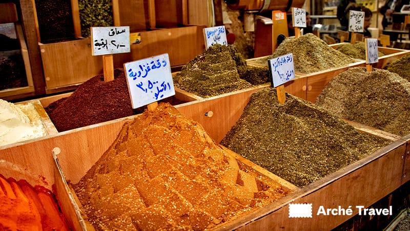 Souvenir dalla Giordania, cosa conviene comprare in Giordania, spezie
