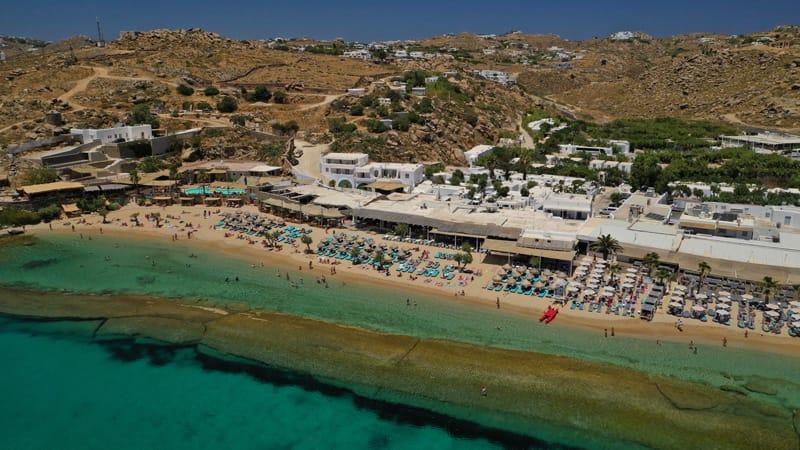 Paradise Beach Mykonos Cicladi