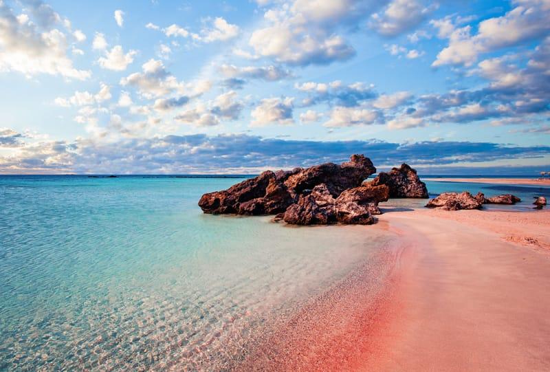 elafonissi spiaggia rosa Creta