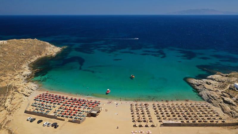 Lia le spiagge più belle Mykonos