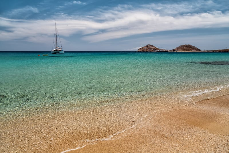 Kalafatis le spiagge più belle Mykonos