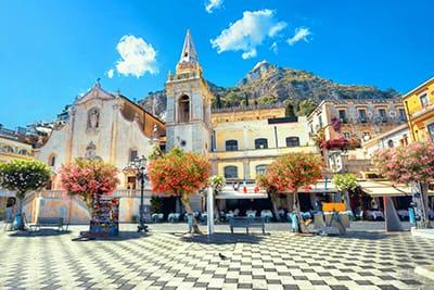 Centro Storico Taormina Gran Tour della Sicilia 7 giorni
