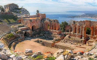 blog Italia guida di viaggio - teatro greco di taormina