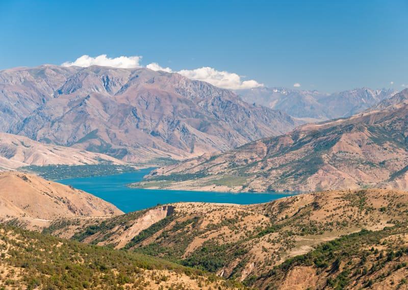 Lago Charvak - Quando andare in Uzbekistan