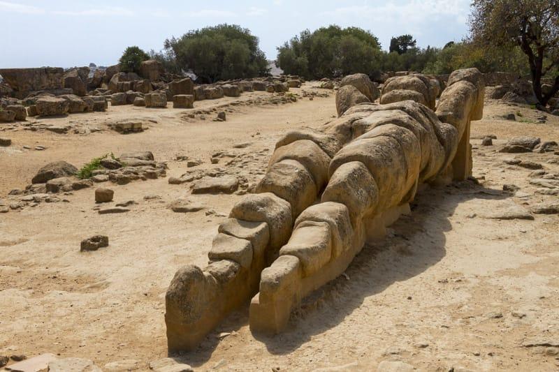 Talamone tempio di Zeus