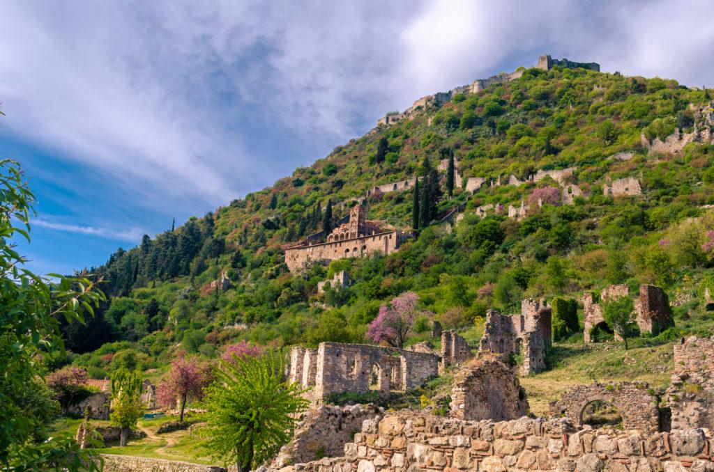 Mystras grecia