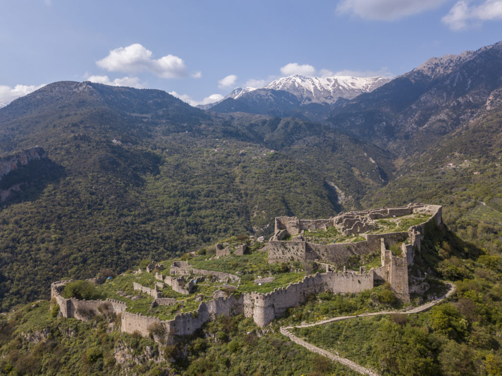 castello Villehardouin mystras cosa vedere