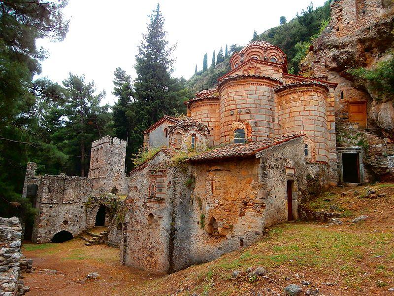 Monastero di Perivleptos mystras
