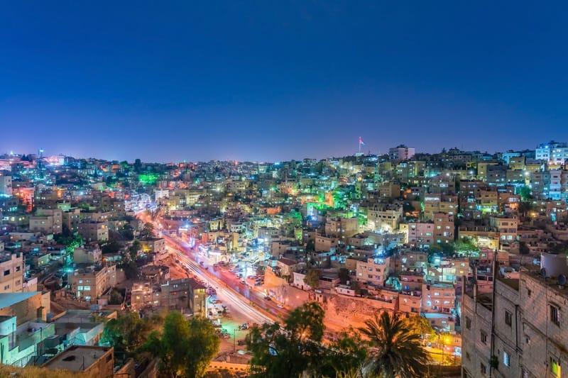 vista panoramica Amman