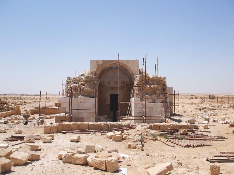 Hammam As-Sarah castello deserto giordania
