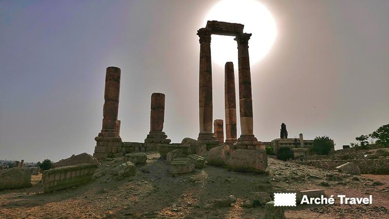 colonne tempio ercole