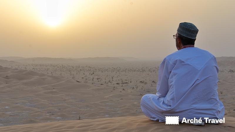Dove dormire all'aperto, Rub Al-Khali, Oman